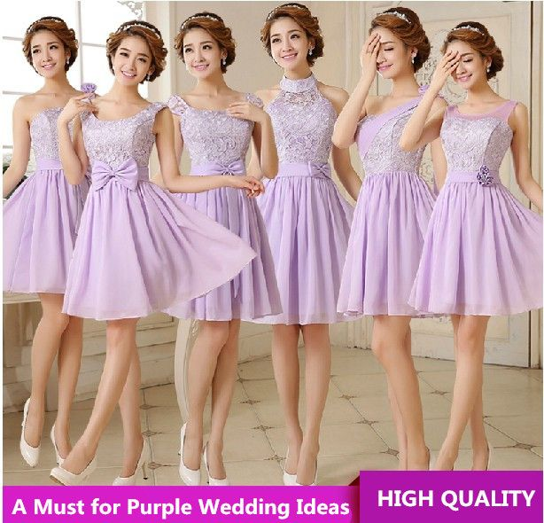 "Bridesmaid Dress 2014 Purple Short Design Embroidery Lace Up Bridesmaids Dresses Vestido Dama De Honra 2014 $<span itemprop=""lowPrice"">35.06</span> - <span itemprop=""highPrice"">40.51</span>"