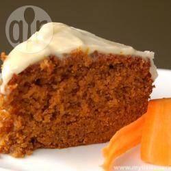 Photo recette : Le gâteau à la carotte