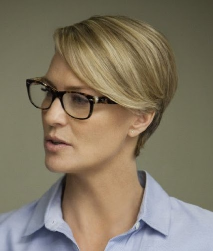 Robin Wright Haircut: Robin Wright's Hair In House Of Cards (great Show)