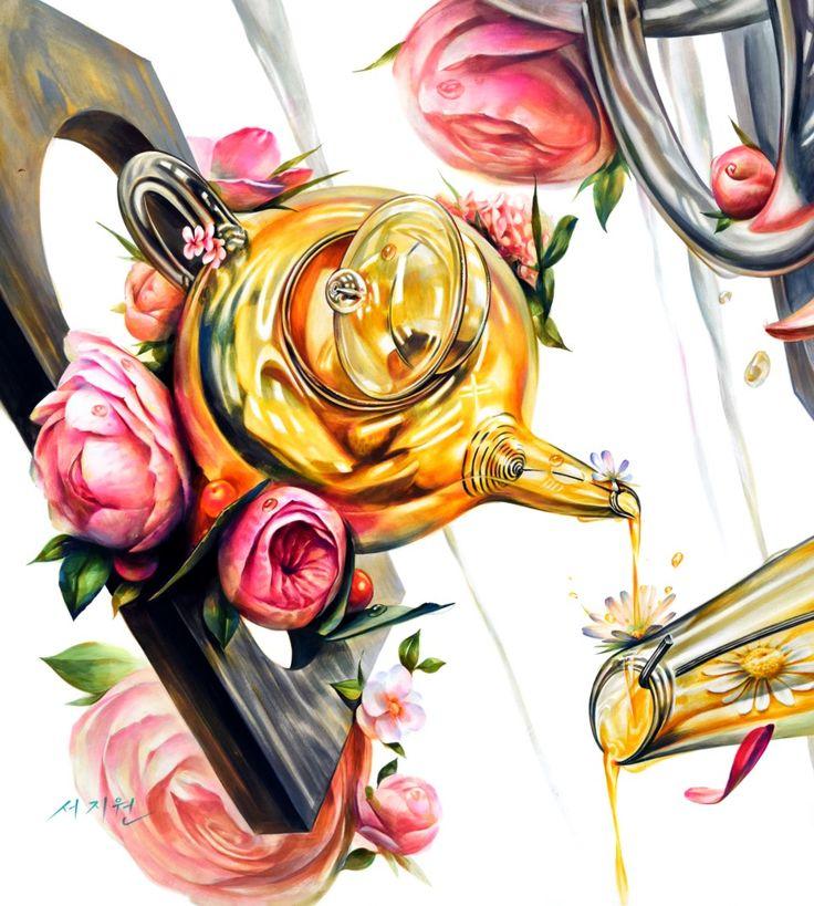 입시미술 그 이상의 가치! 노원구미술학원 감성적인 분위기의 기초디자인 : 네이버 블로그