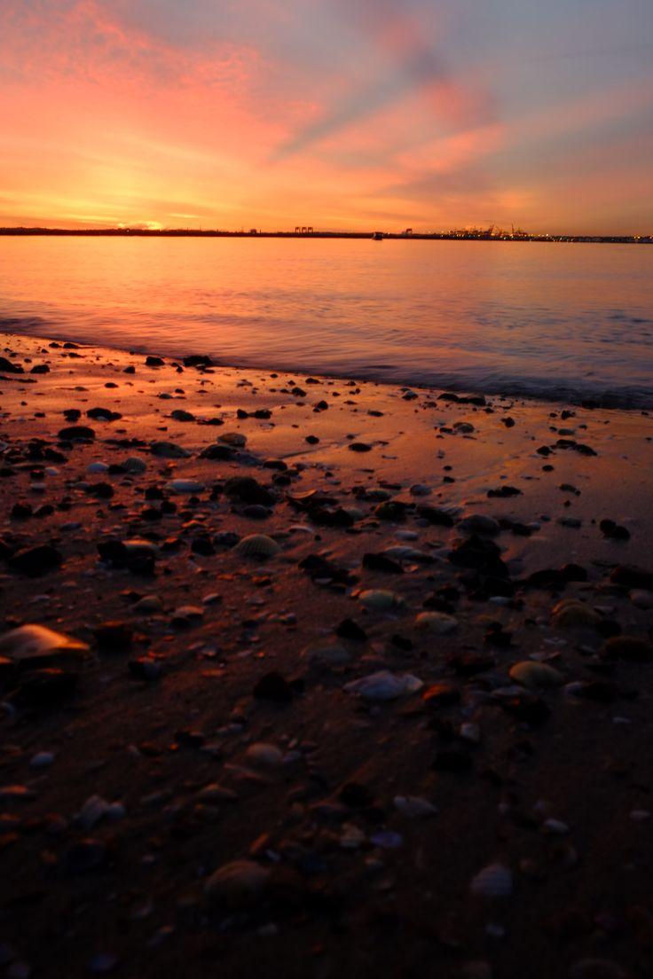 Sunrise over botany bay