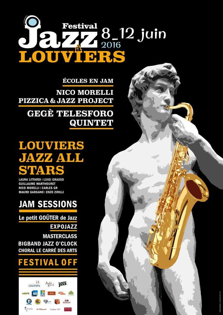 Festival International de Jazz à #Louviers du 8 au 12 juin 2016