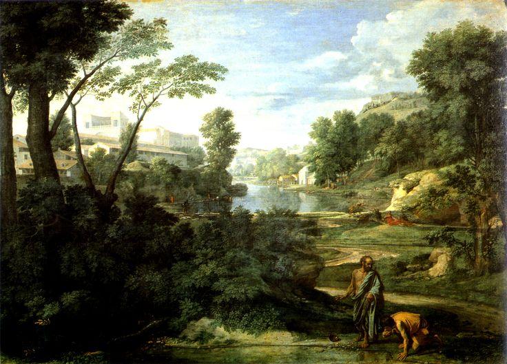 Nicolas POUSSIN: Diogenes