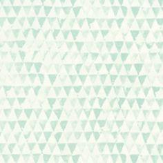 354082 tout petit behang mintgroene driehoekjes te vinden