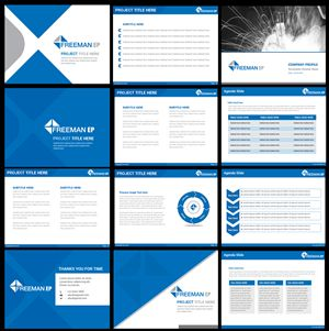 PowerPoint Design for Corporate Template by Best Design Hub