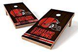 PROLINE NFL Cleveland Browns 2x4 Cornhole Board Set  Vintage Design