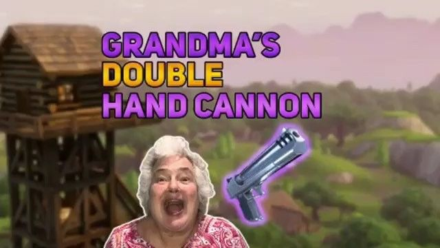 Granny with the double Hand Cannon! Credit: @grandmaplays  V-Buck Giveaway Follow me Like this post Winner will be chosen at 10k  Dont forget to follow for more Also leave a like DM me any clips for them to be posted     Ignore tags  #fortnite #fortniteupdate #fortniteclips #fortnitehighlights #fortnitealert #fortnitememes #fortnitebattleroyale #duos #solos #squads #pubg #gaming #callofduty #pc #xbox #ps4 #fnbr #victoryroyale #snipe #fortnitesnipe #360noscope #freevbucks #vbucks…