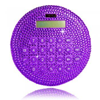 Crystal Circle Calculator Purple