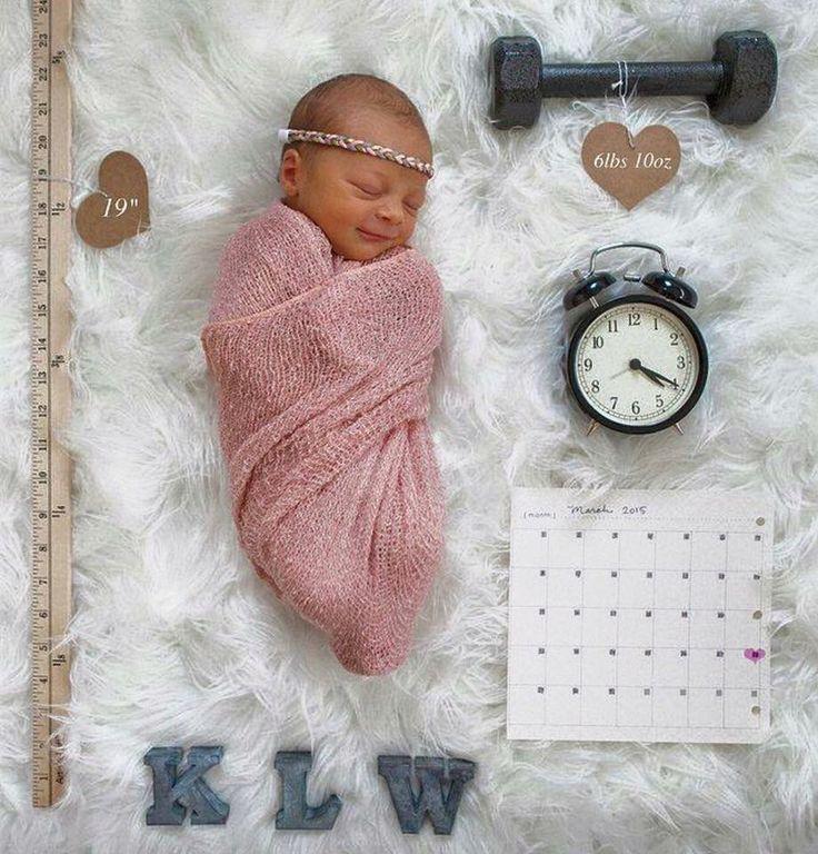 Une telle annonce de naissance douce!   – Mama