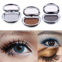 Nueva Singel mujeres del color de la sombra de ojos del maquillaje cosmético Shimmer Sombra de Ojos Mate # 61698