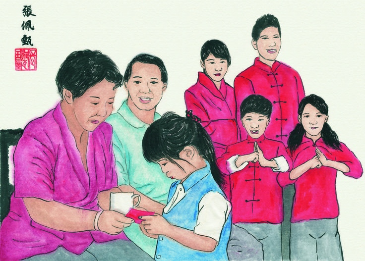 #ChineseNewYear #ChineseArt #Painting