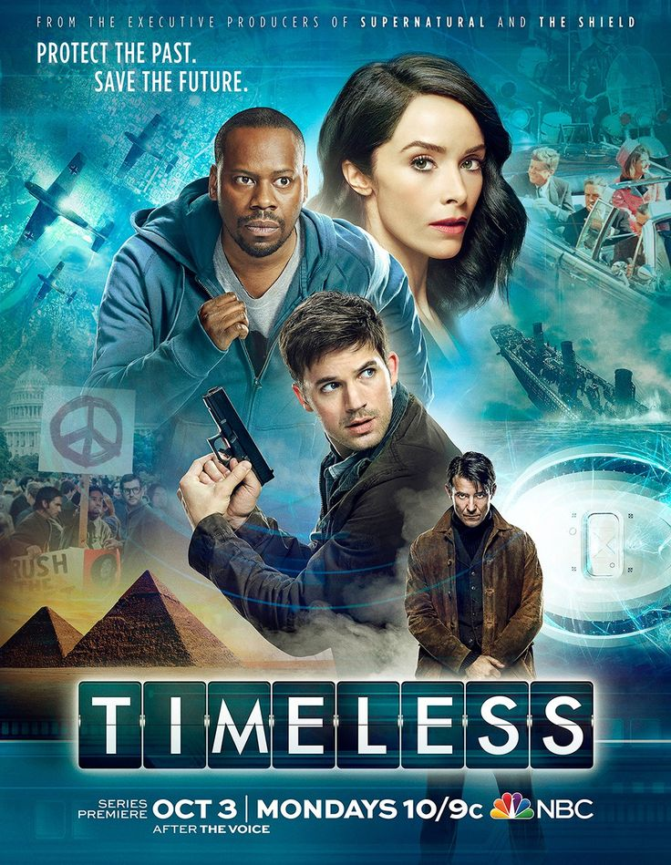 Timeless une série TV de Shawn Ryan, Eric Kripke avec Abigail Spencer, Matt Lanter. Retrouvez toutes les news, les vidéos, les photos ainsi que tous les détails sur les saisons et les épisodes de la série Timeless