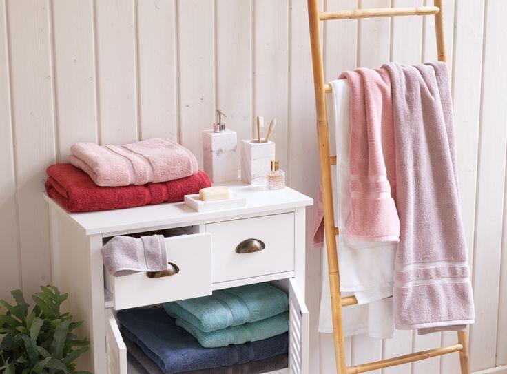 Micasa Badezimmer mit Frottierwäsche MANUEL in diversen Farben
