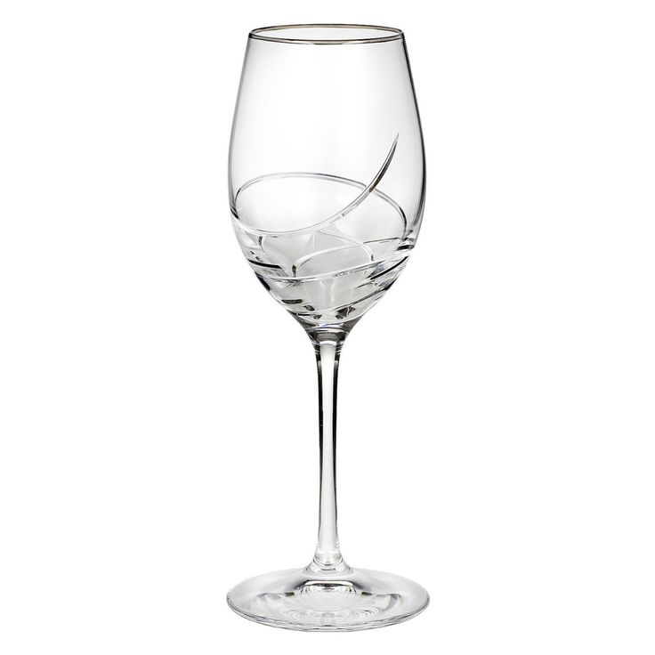 Waterford Ballet Ribbon Essence Platinum 14 oz. Wine Glass - 154393