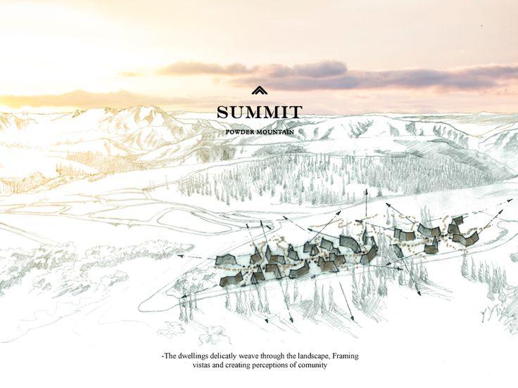 Powder Mountain Slide 2 SITE PLAN by Gerard Dombroski
