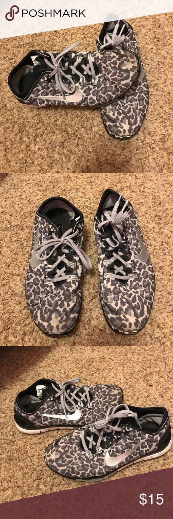 Nike cheetah shoes Worn shoes! Nike frees 5.0 Nike Shoes Sneakers