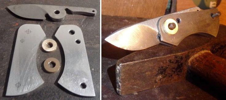 WIP: Mini-Friction-Folder-Neck-Knife