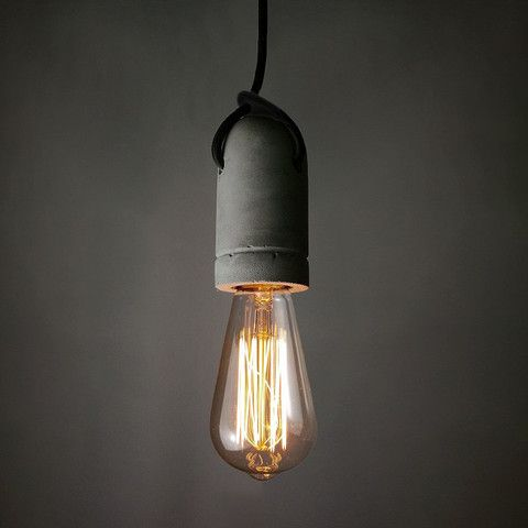 http://www.tudoandco.com/products/concrete-bulb-holder-pendant-light