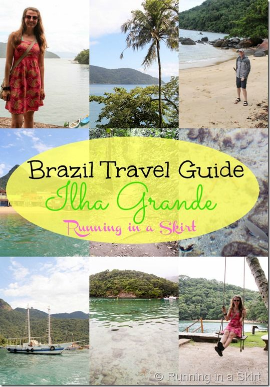 Brazil Travel Guide.  Featuring Ilha Grande in the Rio de Janeiro State.  Beautiful paradise islands in South America. Tips for exploring the nature preserve.  Bucket lists trip! / Running in a Skirt