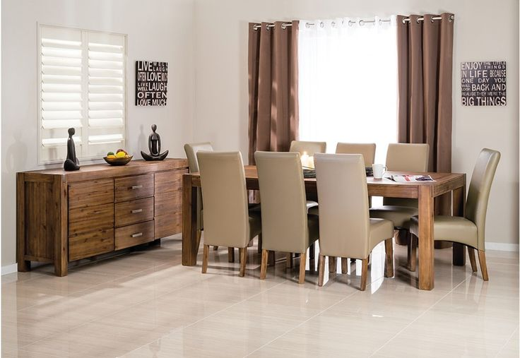 Silverwood 9 Piece Dining Suite | Super A-Mart
