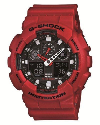 Women's Wrist Watches - Casio Gshock Japanese Limited  Ga100b4ajf  * Click image for more details.