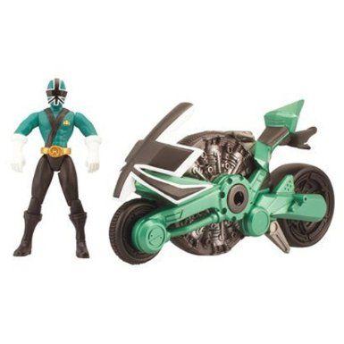 Amazon.com: Power Ranger Samurai Power Rangers Samurai Disc Cycle Forest: Toys & Games