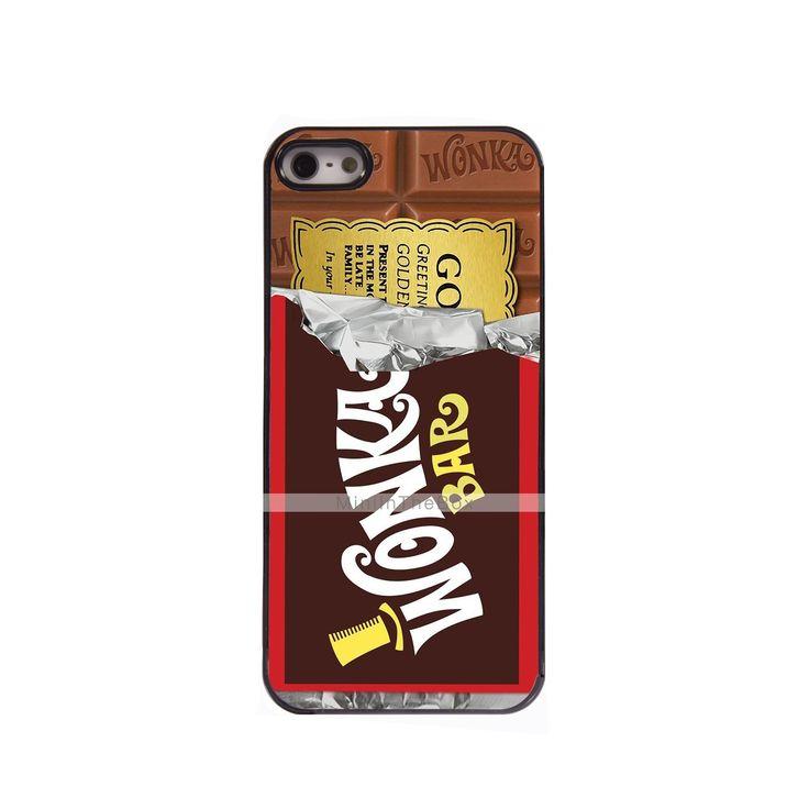 EUR € 4.94 - étui rigide chocolat design en aluminium pour iPhone 5 / 5s, livraison gratuite pour tout gadget!