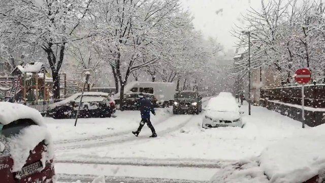 On Friday 30th of January 2015 the winter finally came to Bratislava.  Video: Richard Hlavna (www.hlavna.com) Music: Nothing Lasts Forever by Kai Engel (http://www.kai-engel.com/)