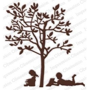 Impression Obsession DIE222-Z - Reading Tree