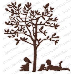 Impression Obsession DIE222-Z - Reading Tree