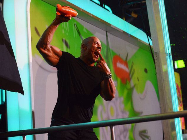 blimp winners | See Who Won 2013 KCA Blimps! Dwayne Johnson Photo Credit: Getty Images