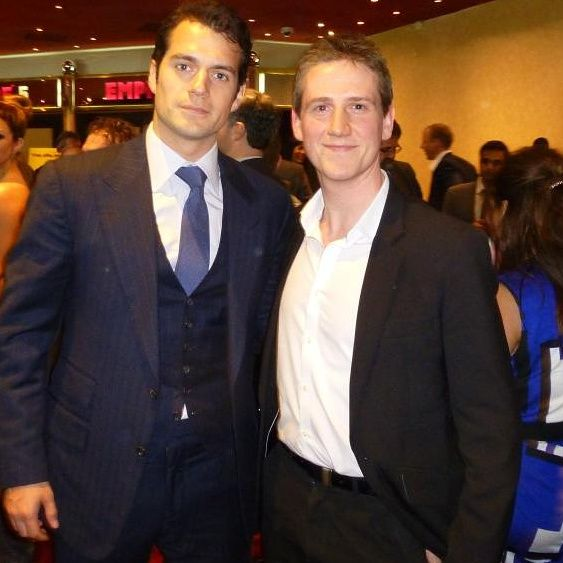 NEW FLASHBACK PIC ALERT  Leighton Hanson (@hansonleighton Twitter) met HenryCavill at the London Fast 6 premiere in May 2013.  Meeting the Man of Steel himself!  Great picture!  Thanks for posting!