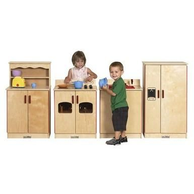 Birch 4-Piece Play Kitchen Set