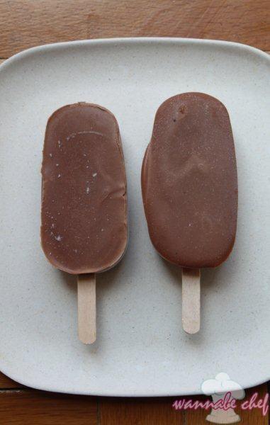Csokikrémes pálcikás házi jégkrém « Wannabe Chef