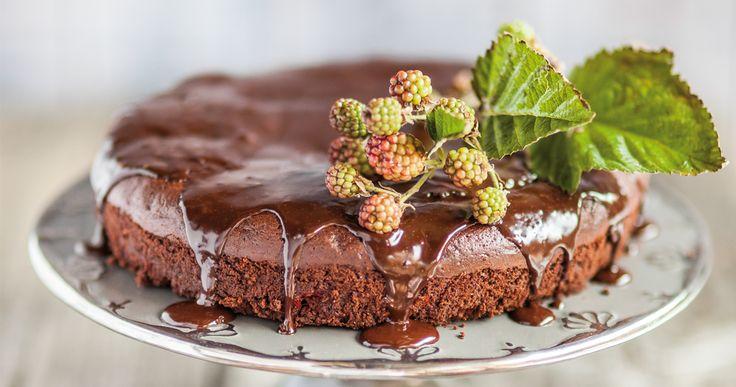 #ciasto #czekoladowe z malinami. #brownie #chocolate #pie #raspberries