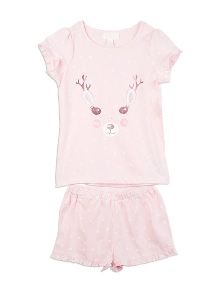 #pumpkinpatchwishlist Pumpkin+Patch+-++-+reindeer+sleep+set+-+S5NW30013+-+orchid+pink+-+1+to+12 Christmas Eve isn't the same without your festive pj's on