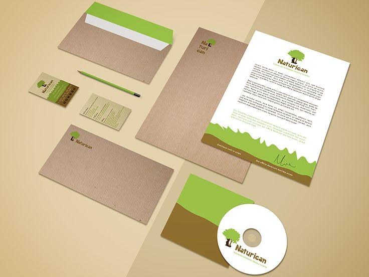 Naturican | Cristina Casas, Branding . Stationery . Logo Design .