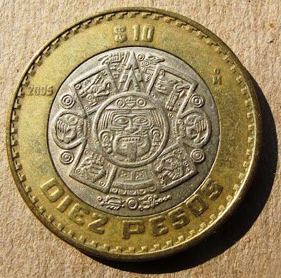 Messico 10 Pesos 2005 Numismatica Pinterest Mexico