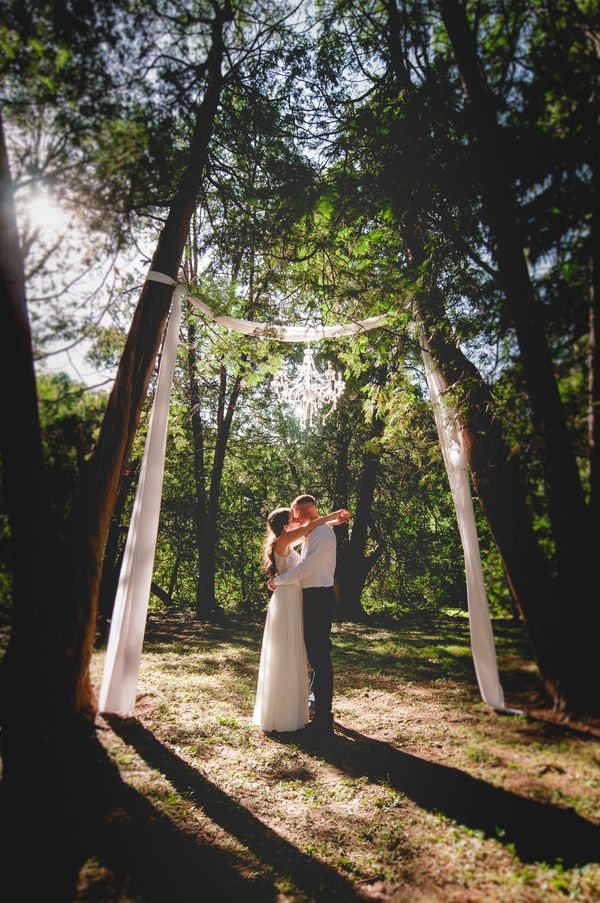 A Forest Wedding Ceremony - Melissa Cervantes Photography