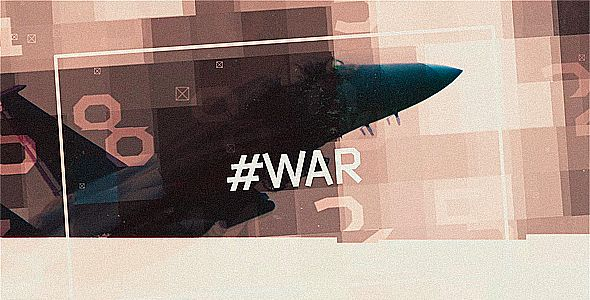 #WAR   Modern Glitch Opener And Titles
