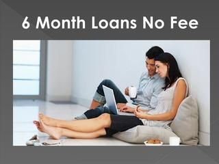 Payday Loans No Fee Suitable Cash Support For Small Needs Without Any Hassle  If you are an employed person in the US and have an active bank account, you can apply for payday loans no fee and can avail small finances for a short period of time a competitive rate of interest. The financial assistance is free of complicated and time consuming hassles such as lots of paperwork and collateral placement.  https://www.6monthloansnofee.com