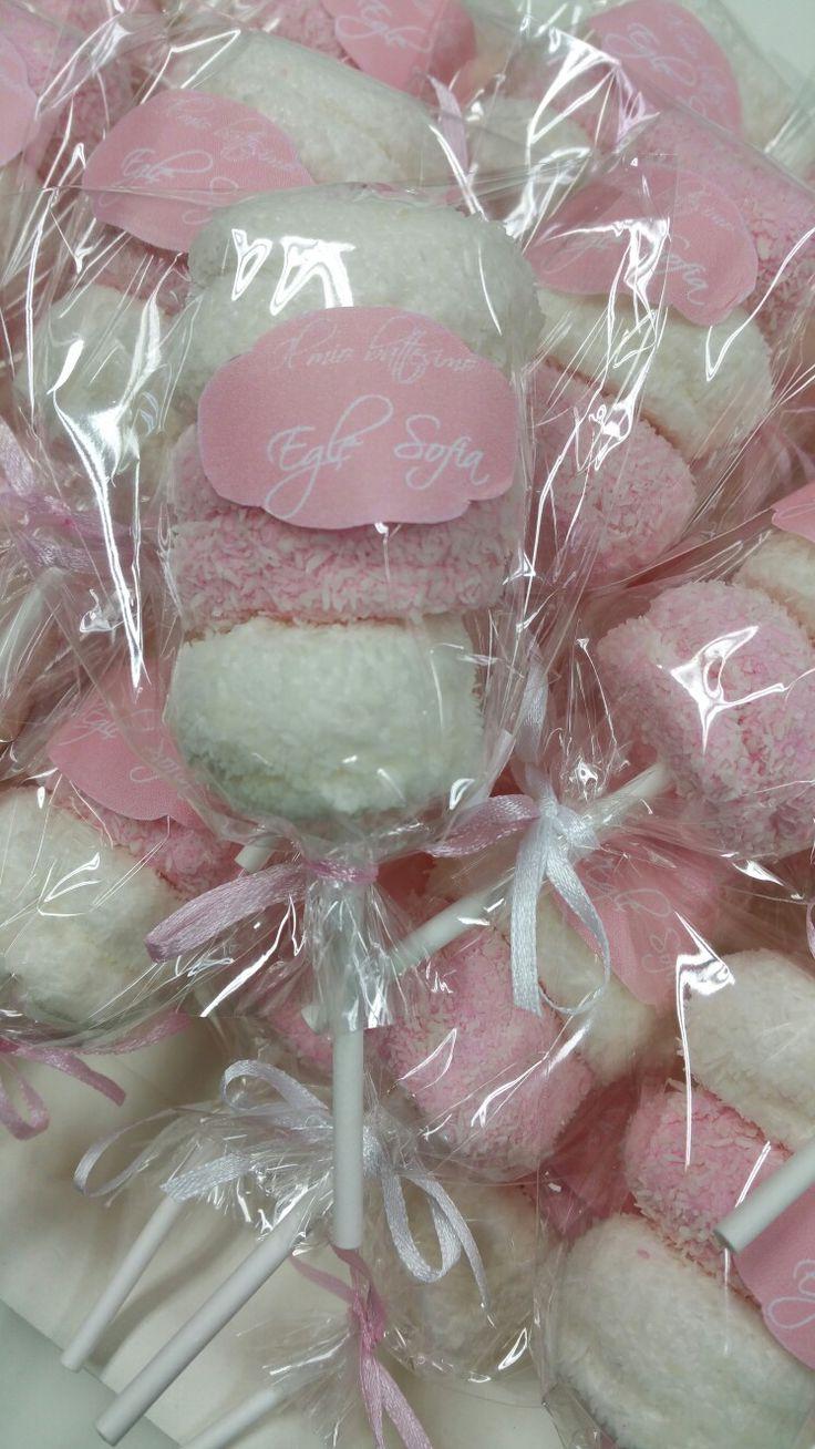 Spiedini di marshmallow personalizzati