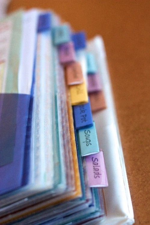 25 Clever DIY Ways To Organize With Binders