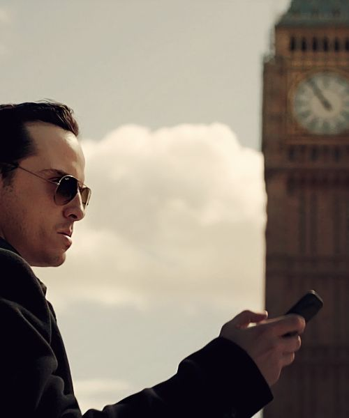 Moriarty. Sherlock. Andrew Scott. Enough said.