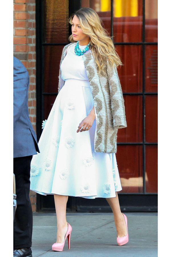 Blake Lively's latest pregnancy outfits are MUST-sees - How to Dress Your Baby Bump - Pregnancy Style - Estilo Premamá