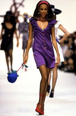 Resultado de imagen para Tyra Banks young runway