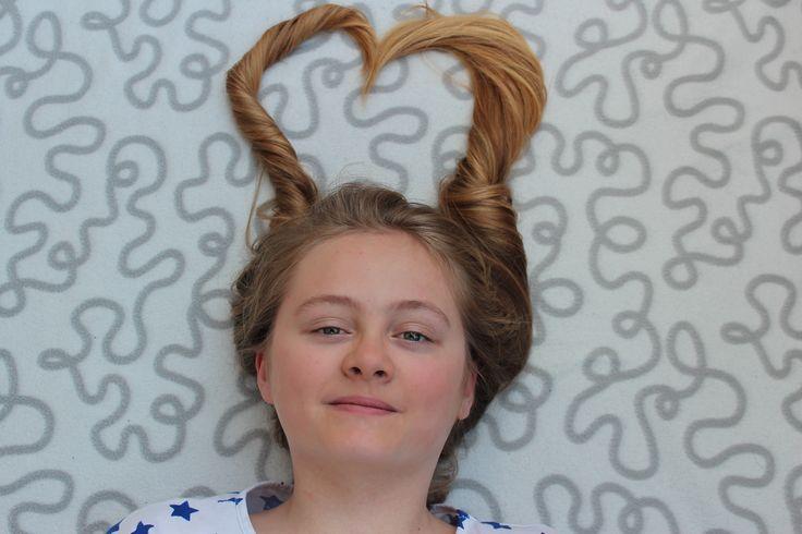 Hair hearts