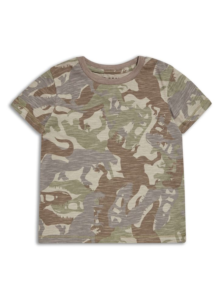 Boys Boutique Dinosaurs Cargo Army T Shirt - Baby Boutique Shop #boys_style
