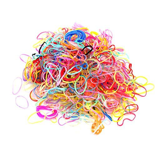 500 Pcs Women Girls Mixed Rubber Hairband Rope Ponytail Holder Elastic Hair Band ** Read more  at the image link. (This is an Amazon affiliate link)