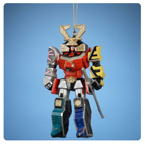 Power Rangers Megazord Blow Mold Ornament Christmas Fun